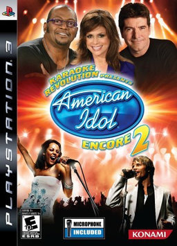 Konami Digital Entertainment Konami Karaoke Revolution: Presents American Idol Encore 2 with Microphone (Playstation 3)