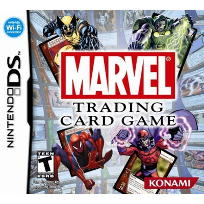 Konami Digital Entertainment Marvel Trading Card Game - PRE-OWNED - Nintendo DS