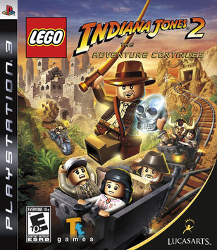 Lucasarts Entertainment Company LucasArts Lego Indiana Jones 2: The Adventure Continues (Playstation 3)