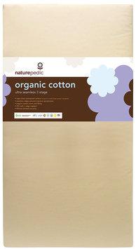 Naturepedic No-Compromise Organic Cotton Dual Seamless Ultra Crib