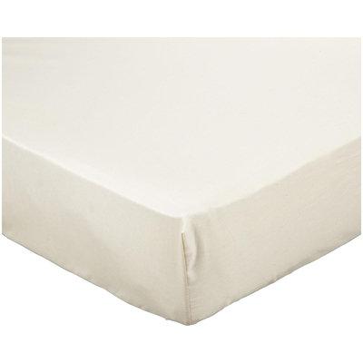 NaturePedic Organic Cotton Crib Sheet Ivory