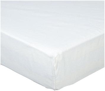 NaturePedic Organic Cotton Crib Sheet 3 pack White