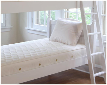 Naturepedic Twin Size Trundle Mattress Organic Cotton Ultra Quilted