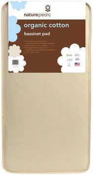 Naturepedic 11-Inch x 29-Inch Bassinet Mattress Pad