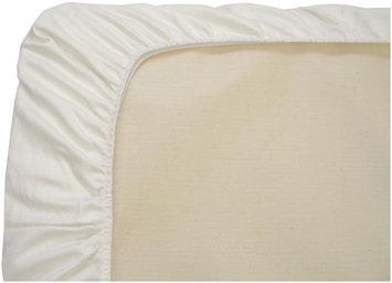 Naturepedic Organic Cotton Stokke Mini Fitted Sheet- White