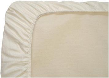 Naturepedic Organic Cotton Stokke Mini Fitted Sheet- Ivory