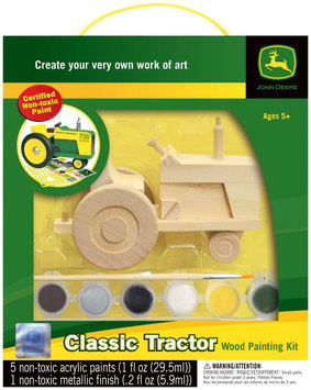 Masterpieces Works fo Ahhh Classic Tractor Wood Paint Kit