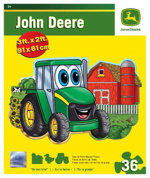 MasterPieces Puzzle Company John Deere On The Farm Floor Puzzle (36 pcs)