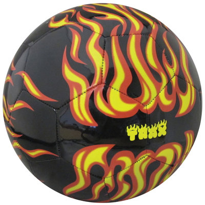 Trax Flames Soccer Ball, Flames - Size 4