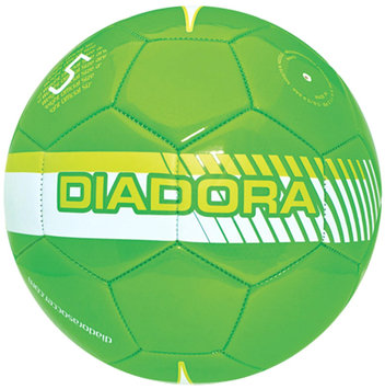 Diadora Fulmine Soccer Ball, Green/Yellow - Size 3