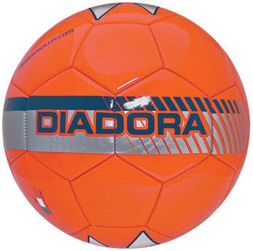Diadora Fulmine Soccer Ball, Orange - Size 3