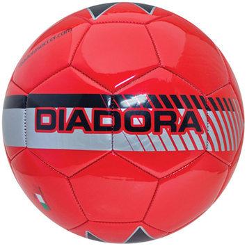Diadora Fulmine Soccer Ball, Red - Size 4
