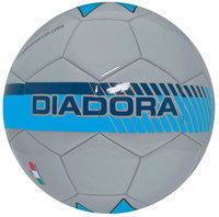 Diadora Fulmine Soccer Ball, Silver/Blue - Size 3