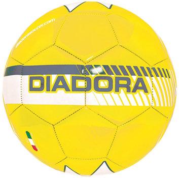 Diadora Fulmine Soccer Ball, Yellow/Grey - Size 4
