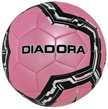 Diadora Lido Soccer Ball, Pink - Size 3
