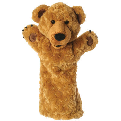 The Puppet Company Long-Sleeved Glove Puppets: Bear