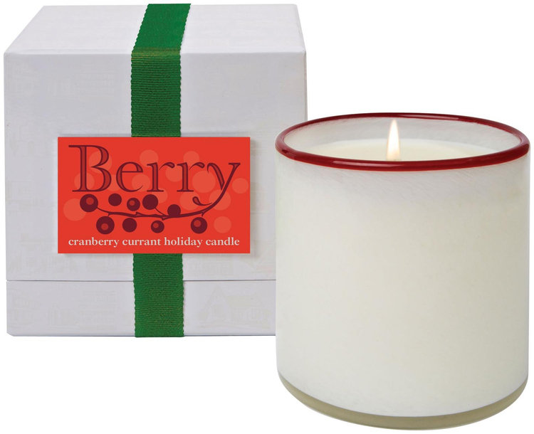 Slide: LAFCO Berry Cranberry Currant Holiday Candle