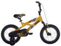 Jeep Boy's Bike, Yellow/Black - 14