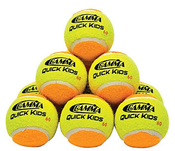 Gamma Quick Kids 60 Orange Tennis Balls