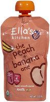 Ella's Kitchen 1 Purees - Peaches & Bananas - 3.5 oz - 1 ct.
