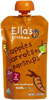 Ella's Kitchen 1 Purees - Carrots Apples & Parsnips - 3.5 oz - 1 ct.