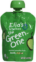 Ella's Kitchen 3 Smoothie Fruit - The Green One - 3 oz - 1 ct.