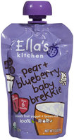 Ella's Kitchen 1 Baby Brekkie - Blueberry & Pear Baby Brekkie - 3.5 oz - 1 ct.