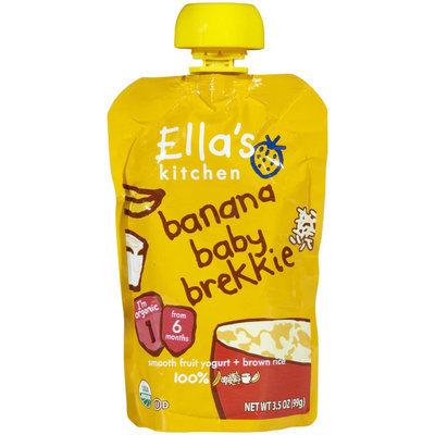 Ella's Kitchen 1 Baby Brekkie - Banana Baby Brekkie - 3.5 oz - 1 ct.