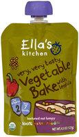 Ella's Kitchen 2 Meals - Vegetable Bake with Lentils - 4.5 oz - 1 ct.