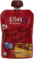 Ella's Kitchen 2 Meals - hugely hearty Four Bean Feast - 4.5 oz - 1 ct.