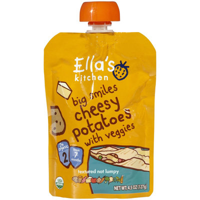 Ella's Kitchen 2 Meals - Cheesy Potato with veggies - 4.5 oz - 1 ct.