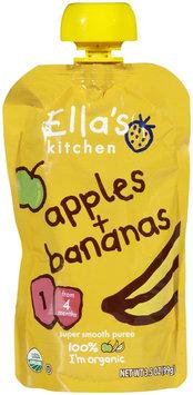 Ella's Kitchen 1 Purees - Apple & Banana - 3.5 oz - 1 ct.