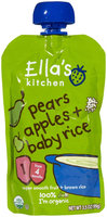 Ella's Kitchen 1 Baby Rice - Pears Apples + Baby Rice - 3.5 oz - 1 ct.