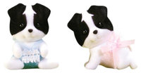 Calico Critters Border Collie Twins - 1 ct.