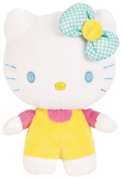 Hello Kitty Cuddle Friend - Green Bow