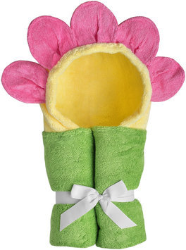 Yikes Twins Child Hooded Towel - Flower