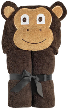 Yikes Twins Infant Hooded Towel- Monkey - 1 ct.