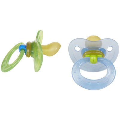 Gerber Nuk Pacifiers, Orthodontic Latex Assorted Colors