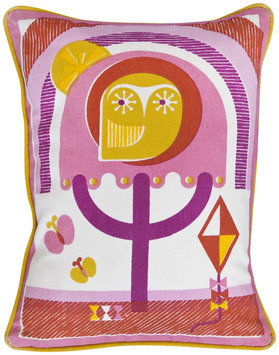 Jonathan Adler Junior Printed Pillow - Owl - 1 ct.