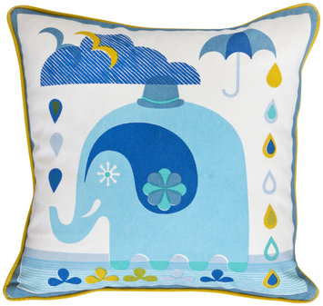 Jonathan Adler Junior Printed Pillow - Elephant
