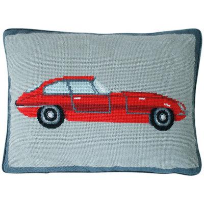 Jonathan Adler Sports Car Pillow - Red - 1 ct.