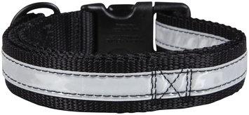 Petflect Co-Leash All-In-One Collar & Leash Night Lite - Black