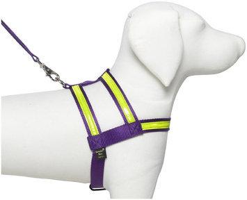 Petflect Purple Night Lite Dog Harness, Extra Large