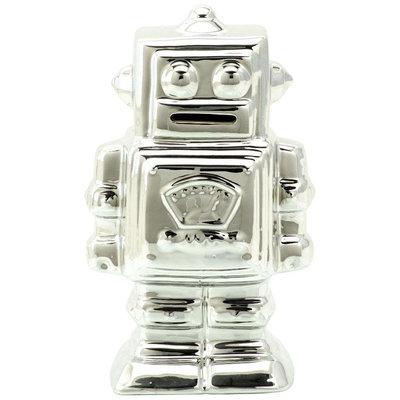 Schylling Metallic Robot Bank - 1 ct.