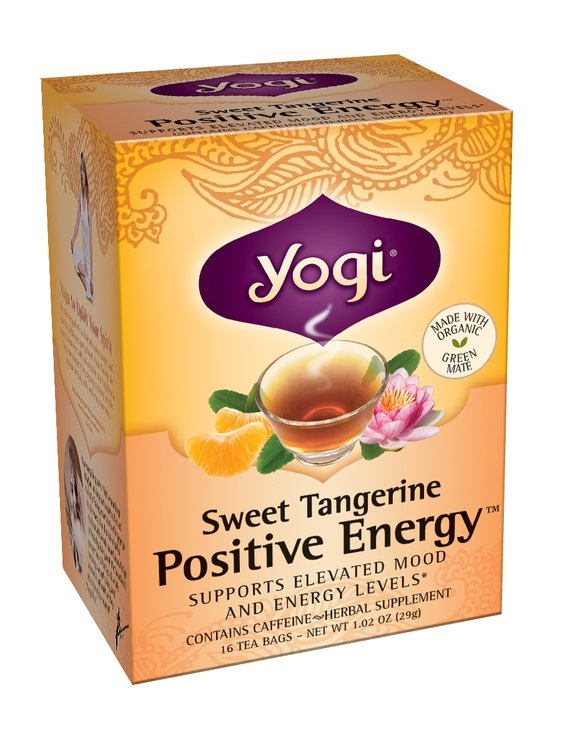 Yogi Tea Sweet Tangerine Positive Energy Reviews Find