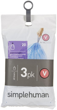 simplehuman Recycling Liners