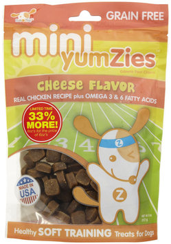 Sentron YumZies, Natural Cheese Flavor, Mini, 8 oz.