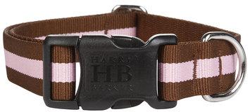 Harry Barker Eton Collar 5/8 in Sm Brown/Pink (SS)