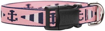 Harry Barker Newport Dog Collar Pink/Blue 1 in Sm (SS)
