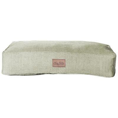 Harry Barker Tweed Dog Bed - Green